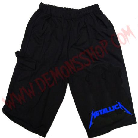 Bermuda Metallica (Azul)