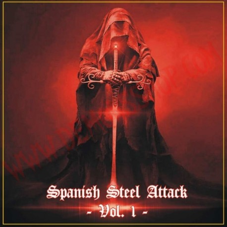 CD Spanish Steel Attack Vol 1