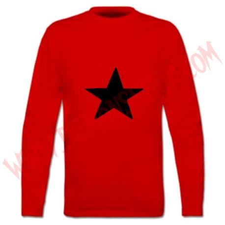 Camiseta ML Estrella Negra (Roja)