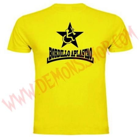 Camiseta MC Bordillo Aplastao (Amarilla)