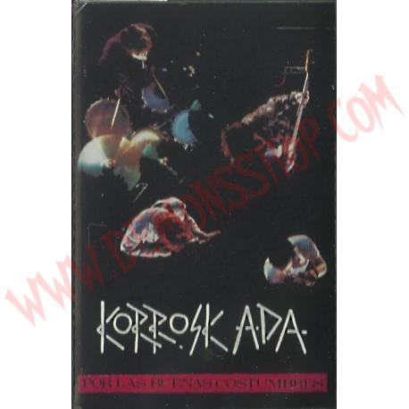 Cassette Korroskada - por las buenas costumbres