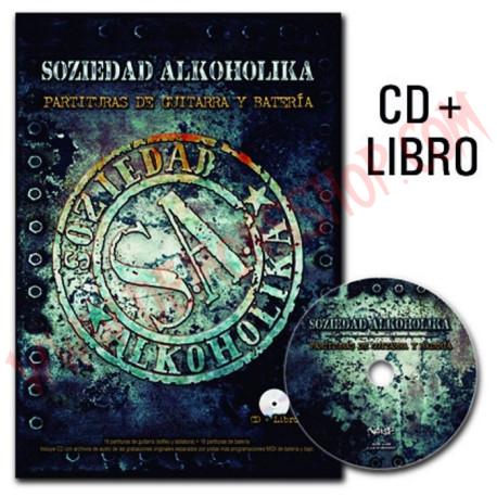 Libro Soziedad Alkoholika - Partituras de guitarra y batería