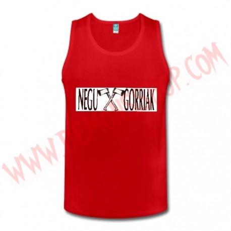 Camiseta SM Negu Gorriak (Roja)