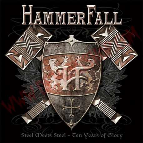 CD Hammerfall - Steel meets steel - 10 years of glory (Best of)