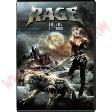 DVD Rage - Full moon in St. Petersburg