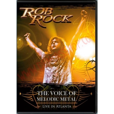 DVD Rob Rock - The voice of Melodic Metal - Live in Atlanta
