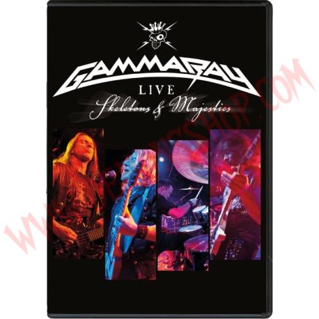 DVD Gamma Ray - Skeletons & majesties live