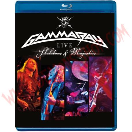 Blu-Ray Gamma Ray - Skeletons & majesties live