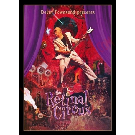 DVD Devin Town send project - The retinal circus