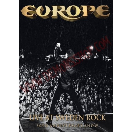DVD Europe - Live at Sweden Rock - 30th anniversary show