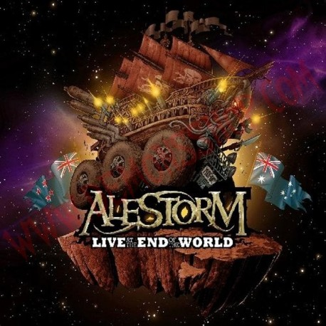 DVD Alestorm - Live at the end of the world