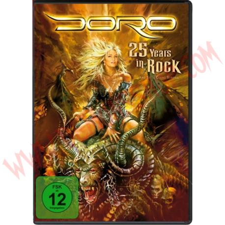 DVD Doro - 25 years in rock