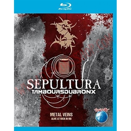 Blu-Ray Sepultura - Metal veins - Alive at Rock in Rio