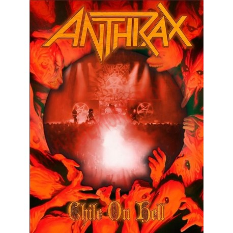 Blu-Ray Anthrax - Chile on hell