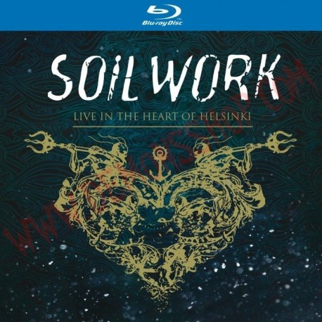 Blu-Ray Soilwork - Live in the heart of Helsinki