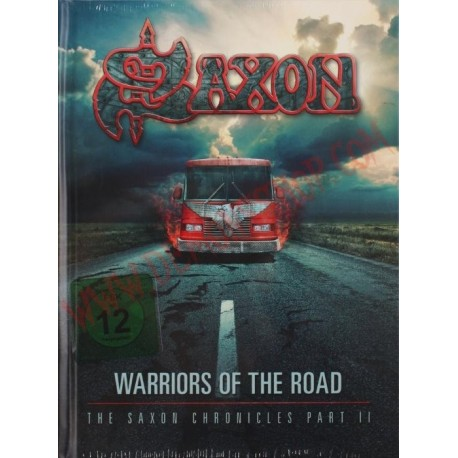 DVD Saxon - Warriors of the road - Chronicles Part II