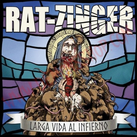 Vinilo LP Rat-zinger - Larga Vida Al Infierno
