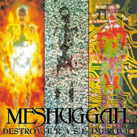 CD Meshuggah - Destroy erase improve