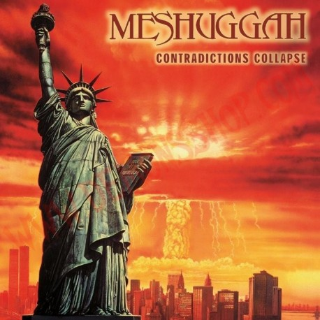 CD Meshuggah - Contradictions collapse