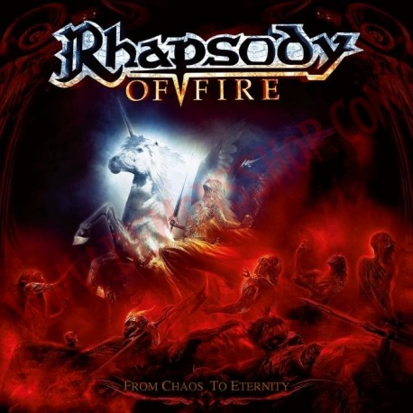 CD Rhapsody of Fire - From chaos to eternity