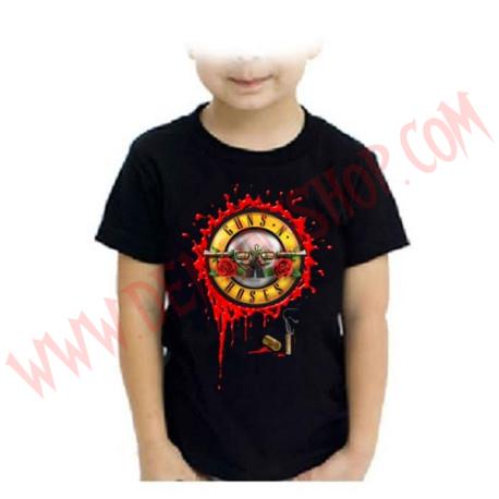 Camiseta Niño Guns N Roses