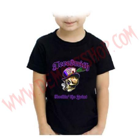 Camiseta Niño Aerosmith