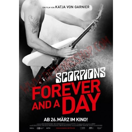 DVD Scorpions - Forever and a day