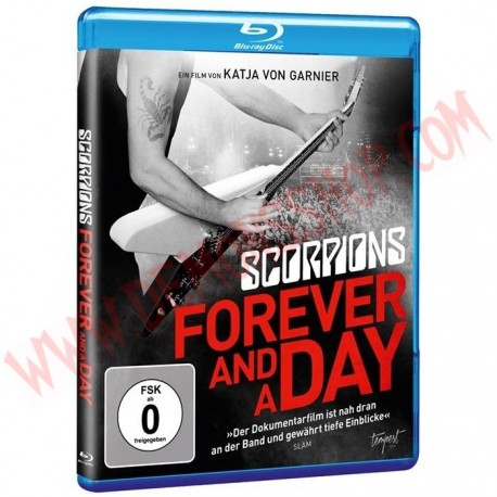 Blu-Ray Scorpions - Forever and a day