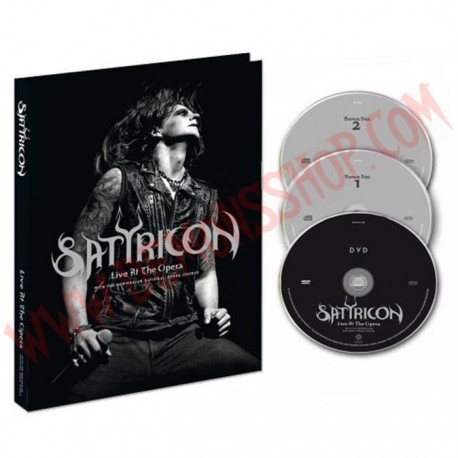 DVD Satyricon - Live at the opera