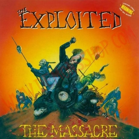 Vinilo LP The Exploited - The massacre