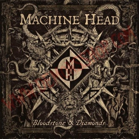 Vinilo LP Machine Head - Bloodstone & diamonds
