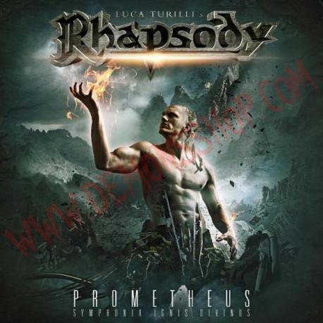 Vinilo LP Rhapsody, Luca Turilli - Prometheus - Symphonia ignis divinus
