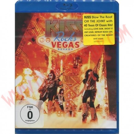 Blu-Ray Kiss - KISS rocks Vegas