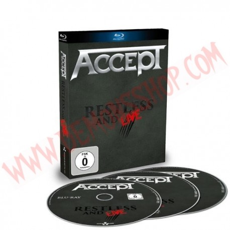 Blu-Ray Accept - Restless and live