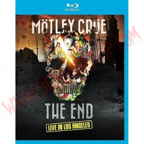 Blu-Ray Motley Crue - The end - Live in Los Angeles