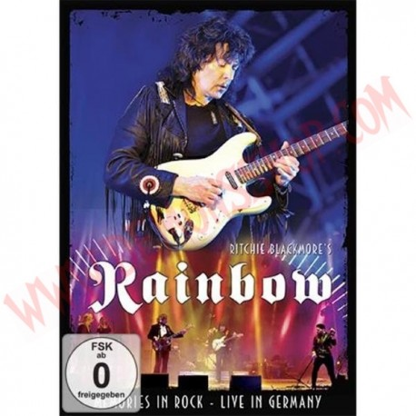DVD Ritchie Blackmore's Rainbow - Memories in Rock - Live in Germany