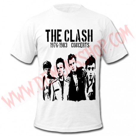 Camiseta MC The Clash (Blanca)