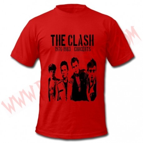 Camiseta MC The Clash (Roja)