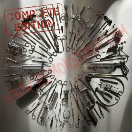 Vinilo LP Carcass - Surgical steel (Complete edition)
