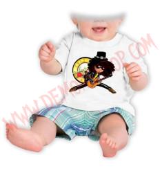 Camiseta Bebe Blanca MC Guns N Roses