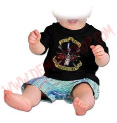 Camiseta Bebe Negra MC Guns N Roses