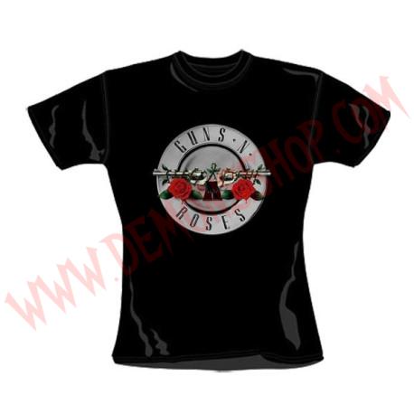 Camiseta Chica MC Guns N Roses