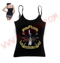 Camiseta Chica Tirantes Guns N Roses