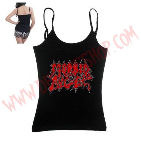 Camiseta Chica Tirantes Morbid Angel