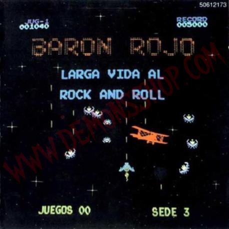 CD Baron Rojo - Larga Vida Al Rock And Roll