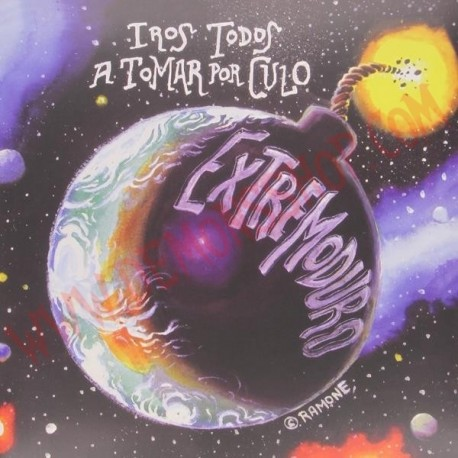 CD Extremoduro - Iros Todos A Tomar Por Culo