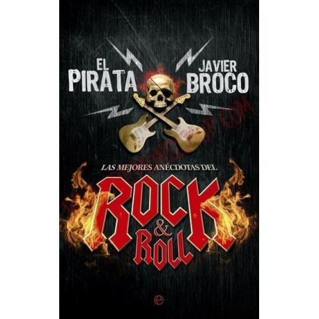 Libro Las Mejores Anécdotas Del Rock & Roll (Fuera de colección)