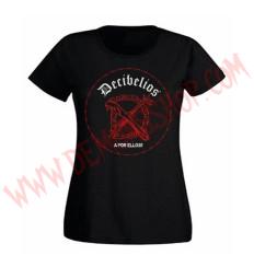 Camiseta Chica MC Decibelios