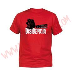 Camiseta MC Disidencia (Roja)