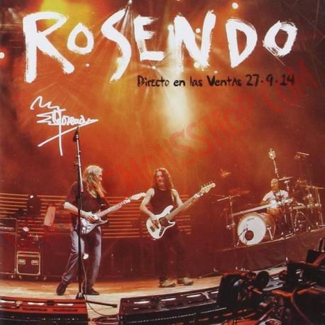CD Rosendo - Directo En Las Ventas 27-9-14